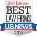 Winner of Best Law Firms 2018 by US News & World Report
